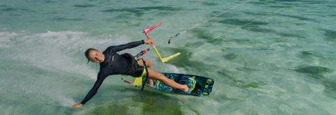 Professionel kitesurf undervisning!